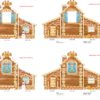 Дом-ширма двусторонняя 1788