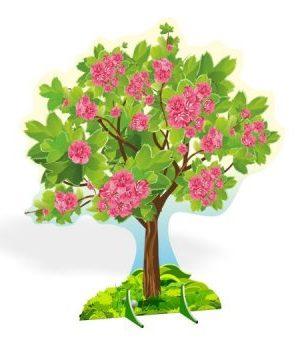"""Декорация для праздников """"Цветущая вишня"""""""