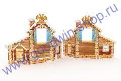 Дом-ширма двусторонняя