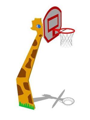 """Баскетбольный щит """"Жираф"""""""