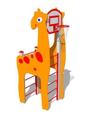 """Лаз """"Жираф"""" с баскетбольным щитом"""