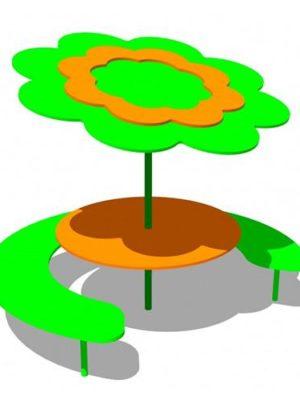 """Столик """"Под деревом 4"""""""