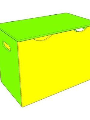"""Ящик для игрушек """"Стандарт"""" с крышкой"""