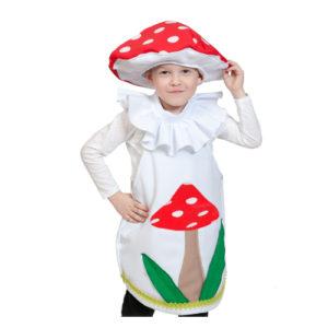 костюм гриб мухомор