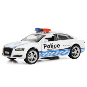 """Машина металлическая, инерционная """"Полицейский патруль"""""""