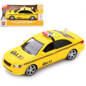 """Машина инерционная """"Такси"""" со звуковыми и световыми эффектами"""