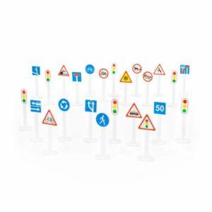 Набор дорожных знаков №3 (24 элемента) (в пакете)