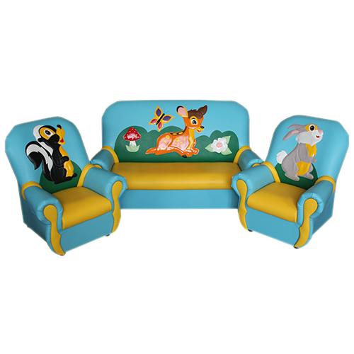 «Сказка люкс» комплект мягкой игровой мебели