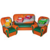 «Сказка люкс» комплект мягкой игровой мебели 4994