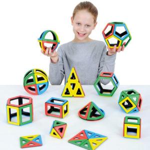 Набор Полидрон Магнитный «Элементарная математика»